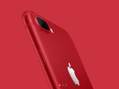 喜庆吉祥不失骚气 苹果上架iPhone 7红色特别版