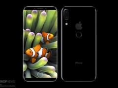 传iPhone 8采用背部指纹方案 屏占比提升巨大