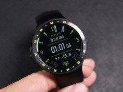 运动从此彻底告别手机 Ticwatch S运动手表评测