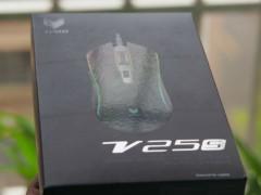 雷柏V25S鼠标试用测评 点亮游戏生活