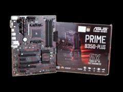 黑红搭配的主流平台 华硕PRIME B350-PLUS主板欣赏