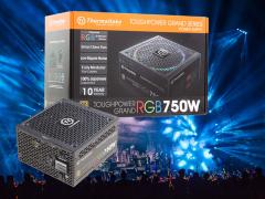 金牌全模组RGB电源 Tt TPG RGB 750W电源评测