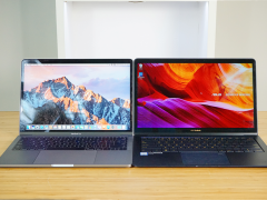 轻薄本力作 华硕灵耀3 Deluxe对比MacBook Pro