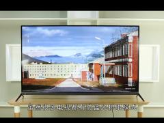 【视频】护眼不偏色 酷开55A3防蓝光教育电视体验