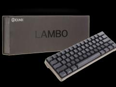 颜值与质感齐飞!iQunix Lambo 62机械键盘评测