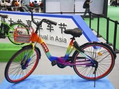 """七款共享单车亮相国际自行车展  车身配色很""""混搭"""""""