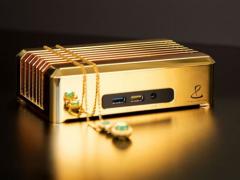 就问你怕不怕 这台黄金电脑卖100万美元