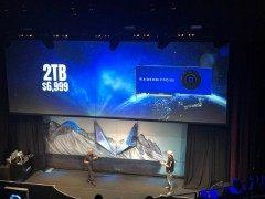卖6999美元的2TB固态专业显卡  AMD RADEON PRO规格惊人