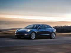 百公里加速仅3秒!特斯拉Model 3高性能版曝光