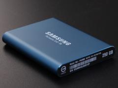 读写均超500MB/s 三星移动固态硬盘T5存储不凡