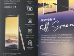 不用等发布会了 三星Galaxy Note8被彻底曝光