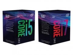 老模板,新配色,新核显?Intel第八代CPU包装盒露面