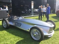 英菲尼迪推出复古电动概念车 百公里加速仅5.5秒