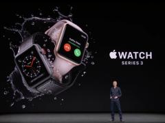 可独立通话!Apple Watch Series 3发布 329美元起