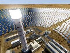 真是有钱任性 迪拜再创记录 建世界最高太阳能塔