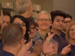 库克iPhone 8销售火爆 刚一上市就出现脱销