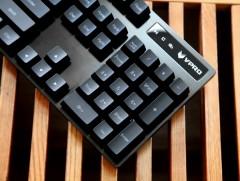 高颜值欧姆龙轴 雷柏V806游戏机械键盘评测