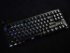 王者归来!CHERRY MX 8.0 RGB黑色侧刻版键盘评测