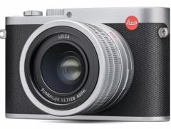有快速定焦镜头的全画幅便携机徕卡Q迎来典雅银色版