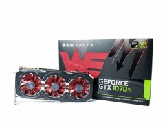 影驰 NVIDIA GeForce GTX 1070Ti GAMER图赏