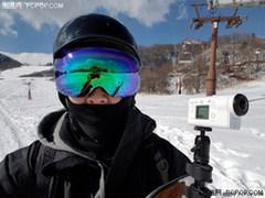 带着索尼运动相机X3000酷玩日本雪境