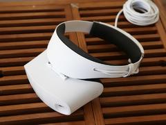 纯白色的未来幻象 戴尔 Visor 头显开箱