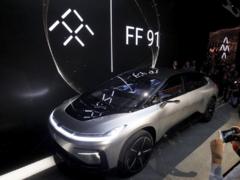 造车梦仍在继续!贾跃亭FF91电动汽车路测视频曝光