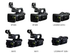 满足用户多样化需求 佳能发布六款数码摄像机新品