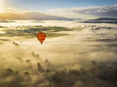 热气球俯瞰海洋 佳能EOS 5D Mark IV彼的澳洲体验