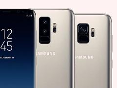 三星S9背面方案确定 镜头竖列指纹在下 看着像苹果
