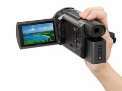 可直接机内编辑4K视频 索尼发布两款4K摄像机新品