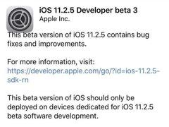 还敢升级吗?苹果iOS 11.2.5beat3已推送,网友:降频换电池?