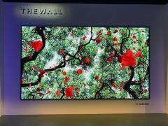 """这是一堵""""墙""""!三星展出146英寸Micro LED电视"""