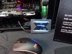 固态硬盘终于带灯效了 金士顿RGB固态硬盘发布