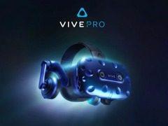 3K分辨率的Vive Pro来了!能够无线使用 内置耳机