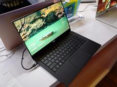 戴尔全新XPS 13笔记本CES现场上手实拍