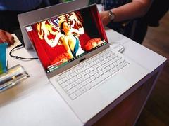 戴尔全新XPS 13笔记本CES现场实拍:颜值有进步