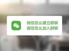 【视频】微信如何建立和加入群聊?