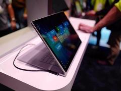 大无止境 微软CES展示 15 英寸 Surface Book 2