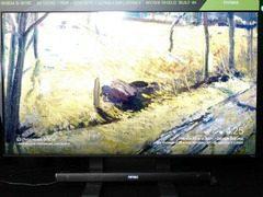 CES展上 NVDIA展出Big Format Gaming Displays游戏显示器