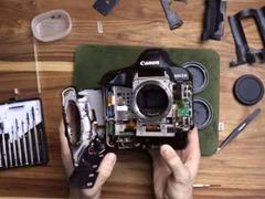 摄影师盲拆价值佳能1DX Mark II 窥看内部结构