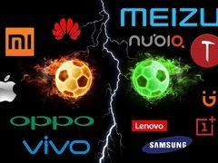 中国手机市场进入寡头时代,华米欧威苹垄断,二流品牌寒冬已至