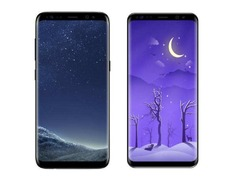 2月底发布首发骁龙845 三星S9紫色版本曝光