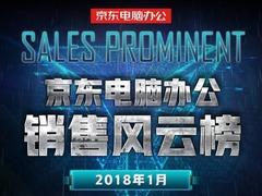 1月京东电脑办公风云榜:游戏台式机成中流砥柱