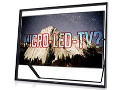 硬磕三星 LG将于9月份推出Micro LED电视