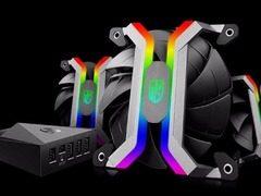 """九州风神推出无框架设计RGB风扇!售价""""感人"""""""
