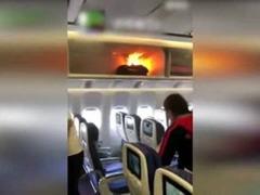 空姐用水扑灭起火充电宝引质疑 其实没毛病