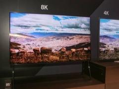2018年是8K电视元年 2022年渗透率或将达到20%