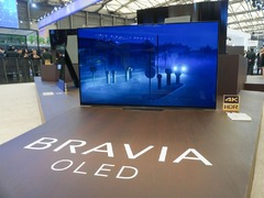 最有爆款潜质的OLED电视 AWE2018索尼A8F真机图赏