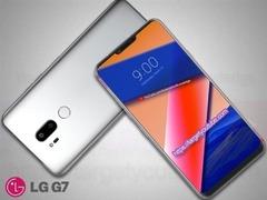 LG G7渲染图曝光:又一款有下巴的刘海全面屏手机